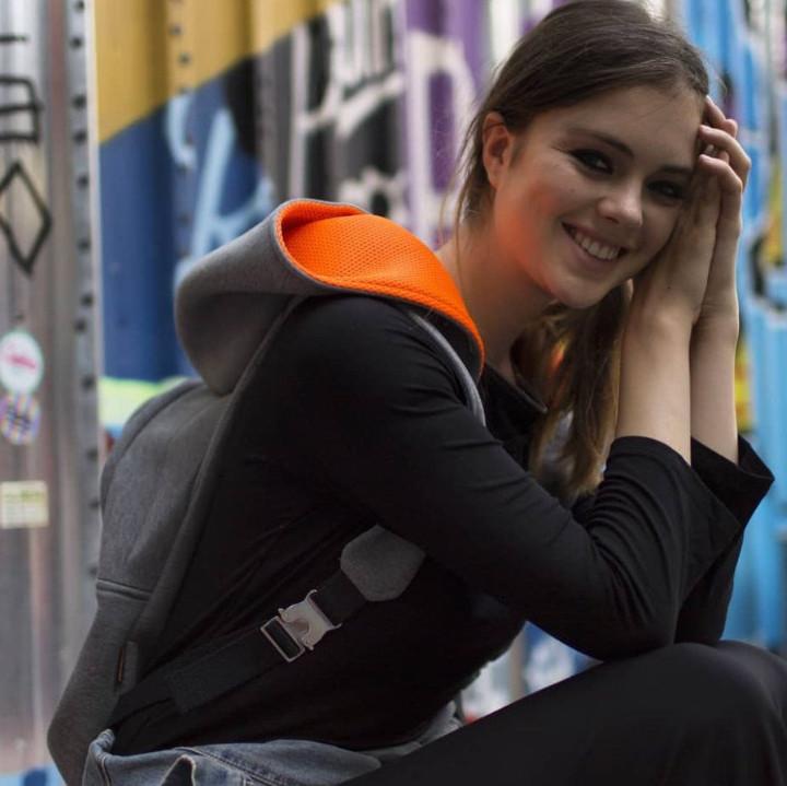 Grey Basic with Orange – Sport Lux