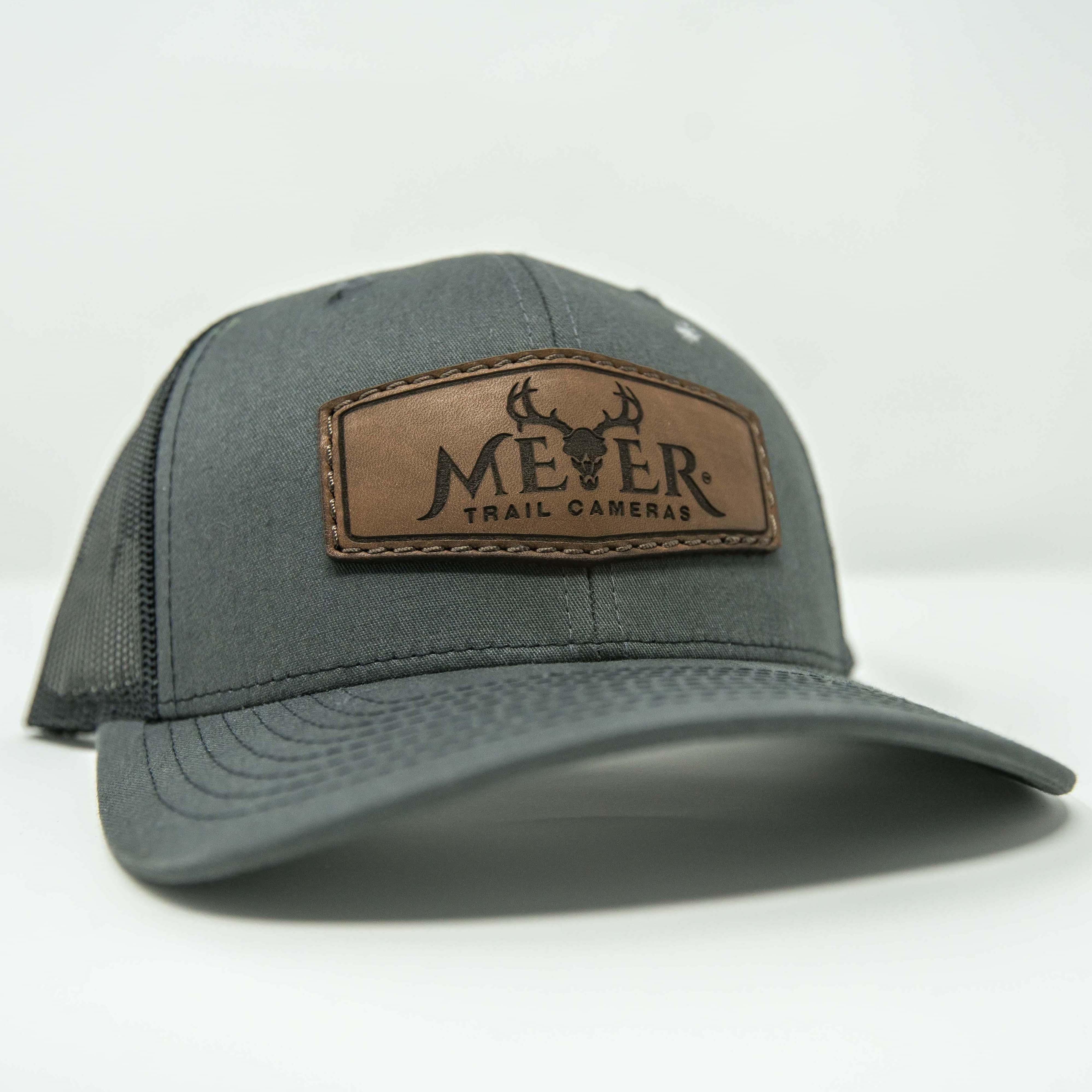 Meyer Leather Logo Trucker Hat
