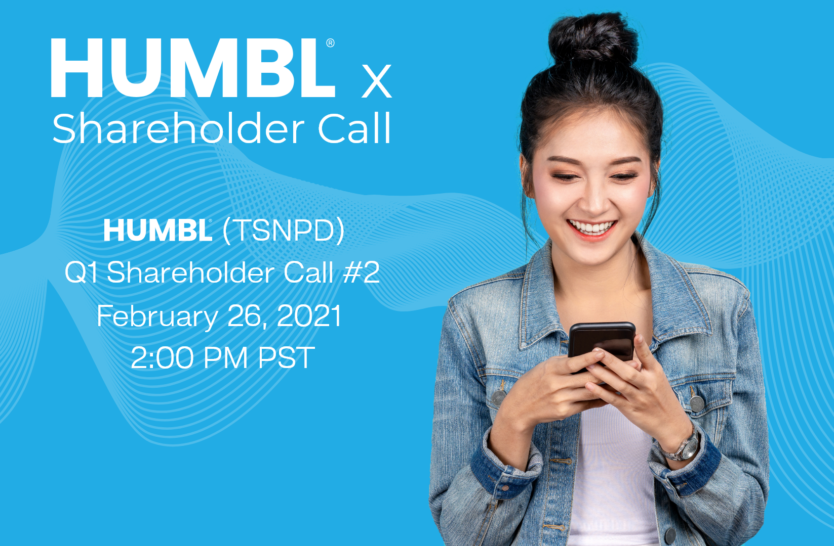HUMBL, Inc. Announces Shareholder Conference Call to Take Place Today