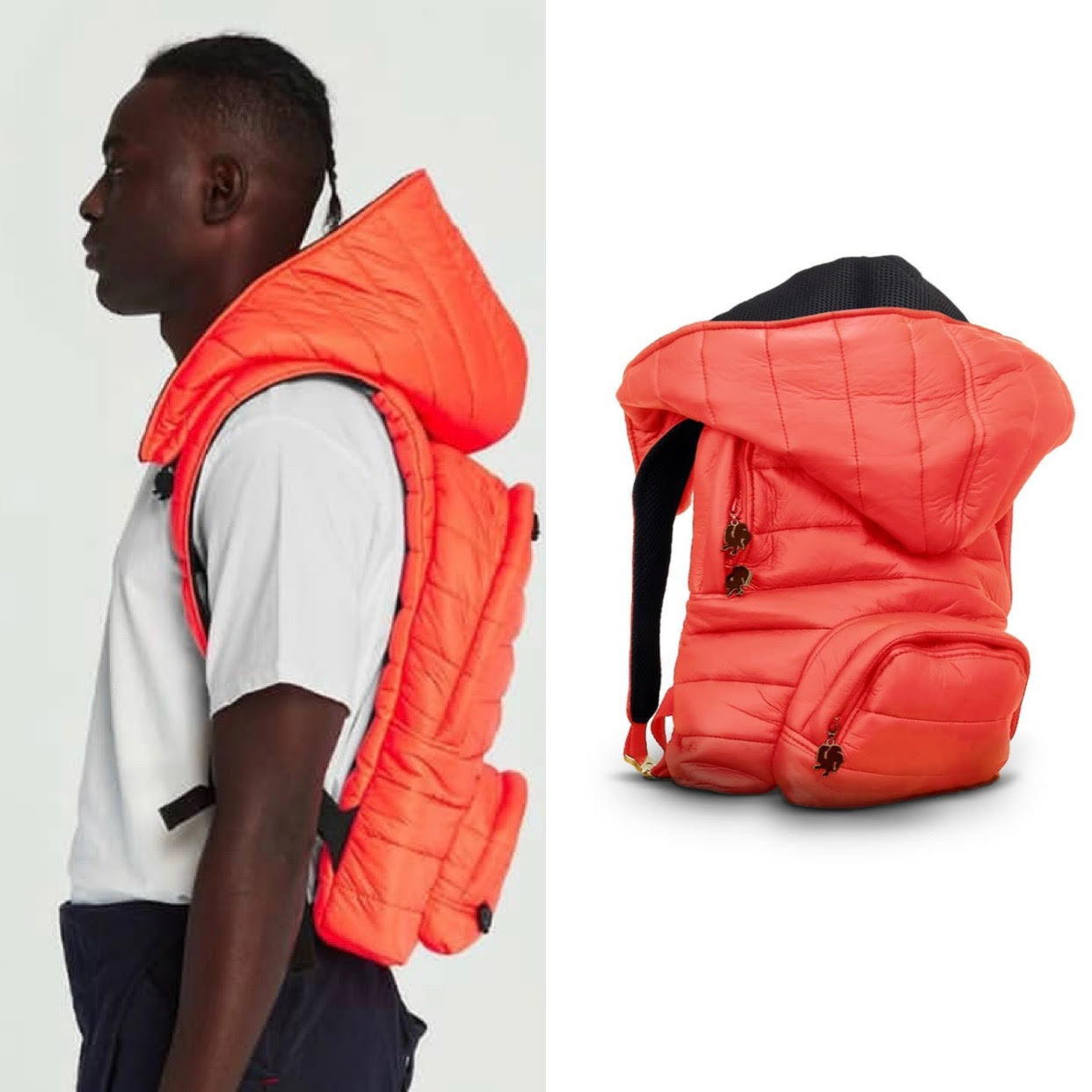 Classic Chic - Puffer Series -Carrot