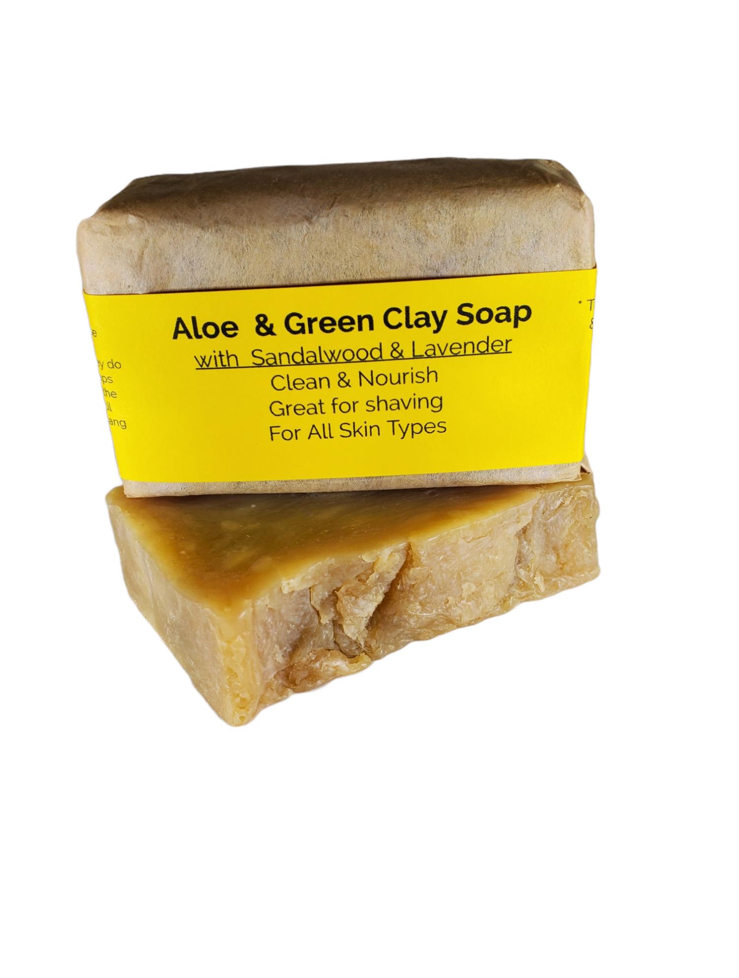 Aloe & Green Clay Soap
