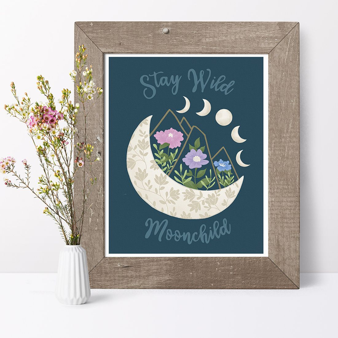 Stay Wild Moonchild Art Print