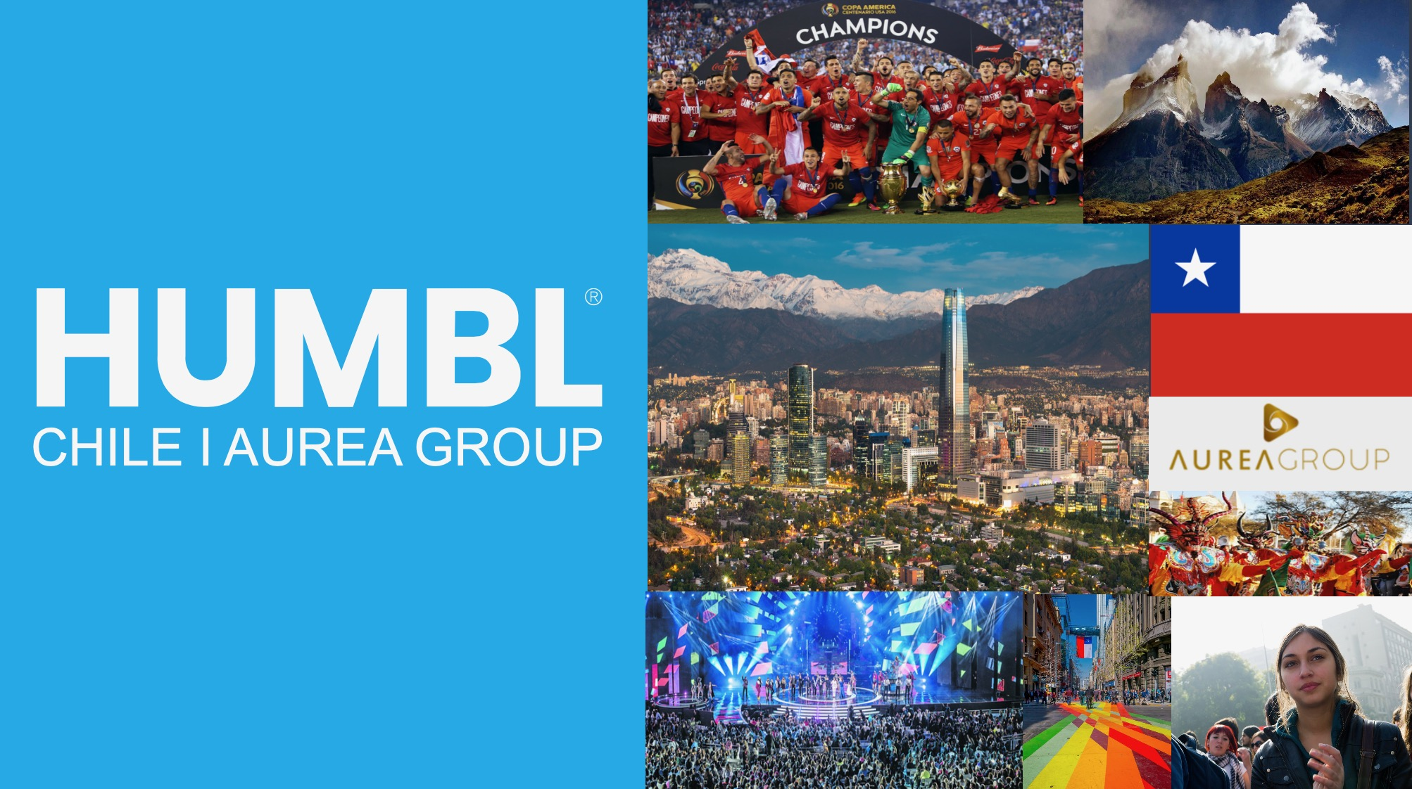 HUMBL, Inc. Announces Aurea Group Ventures Investment and Partnership for Exclusive Chile Country Rights