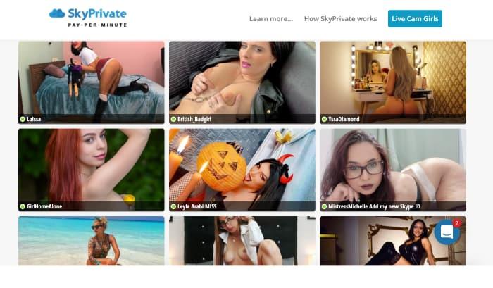 SkyPrivate Website