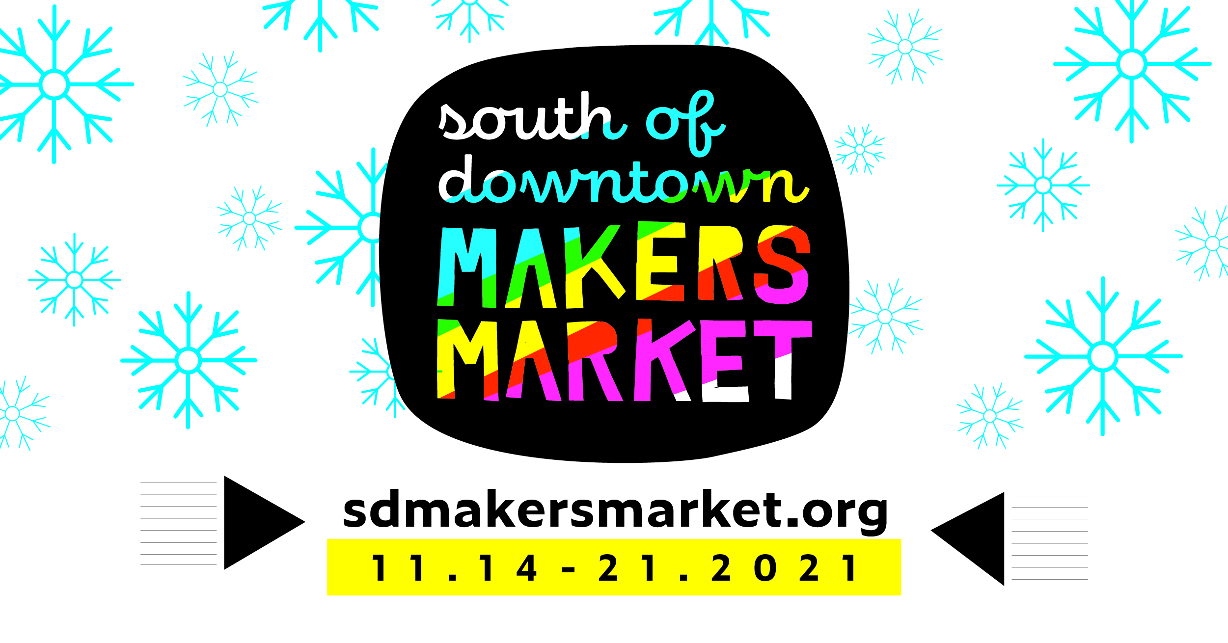 South of Downtown Makers Market Logo