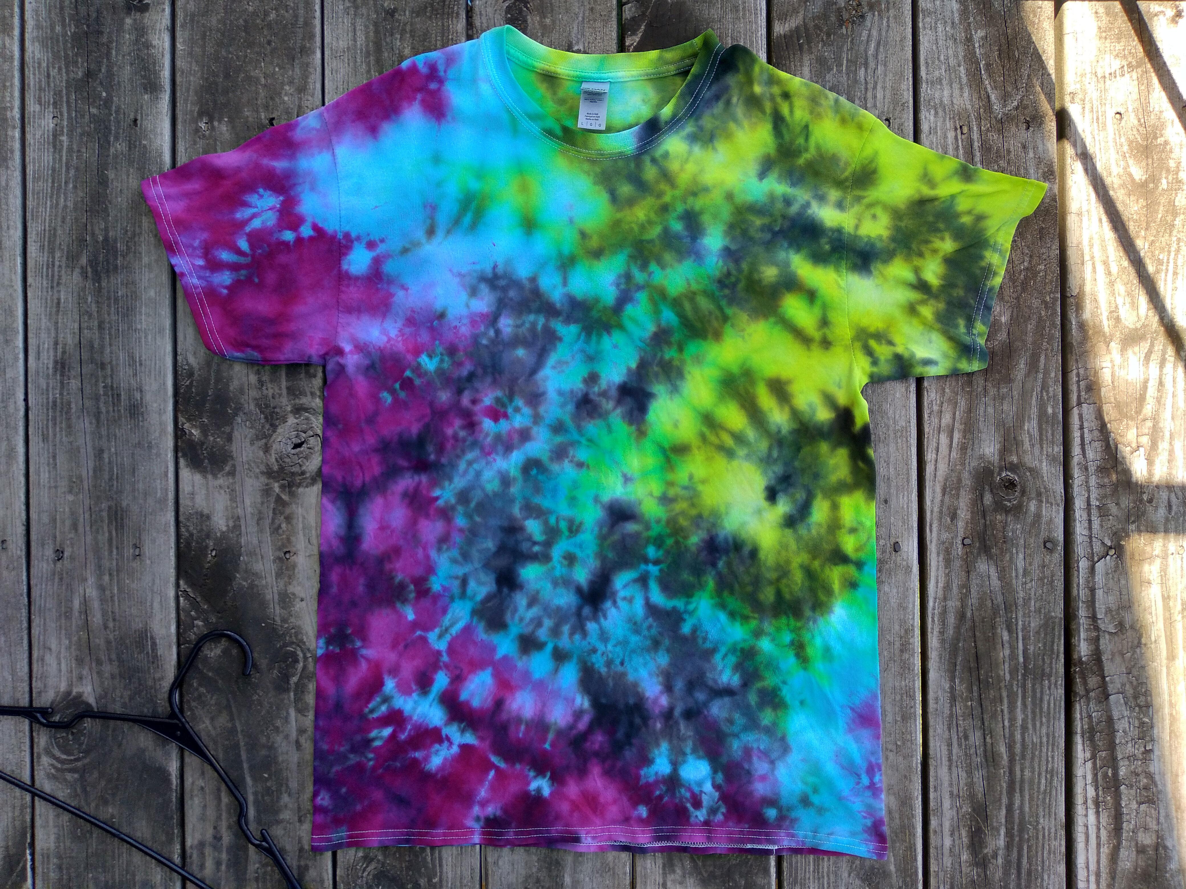 Aurora Borealis themed t-shirt