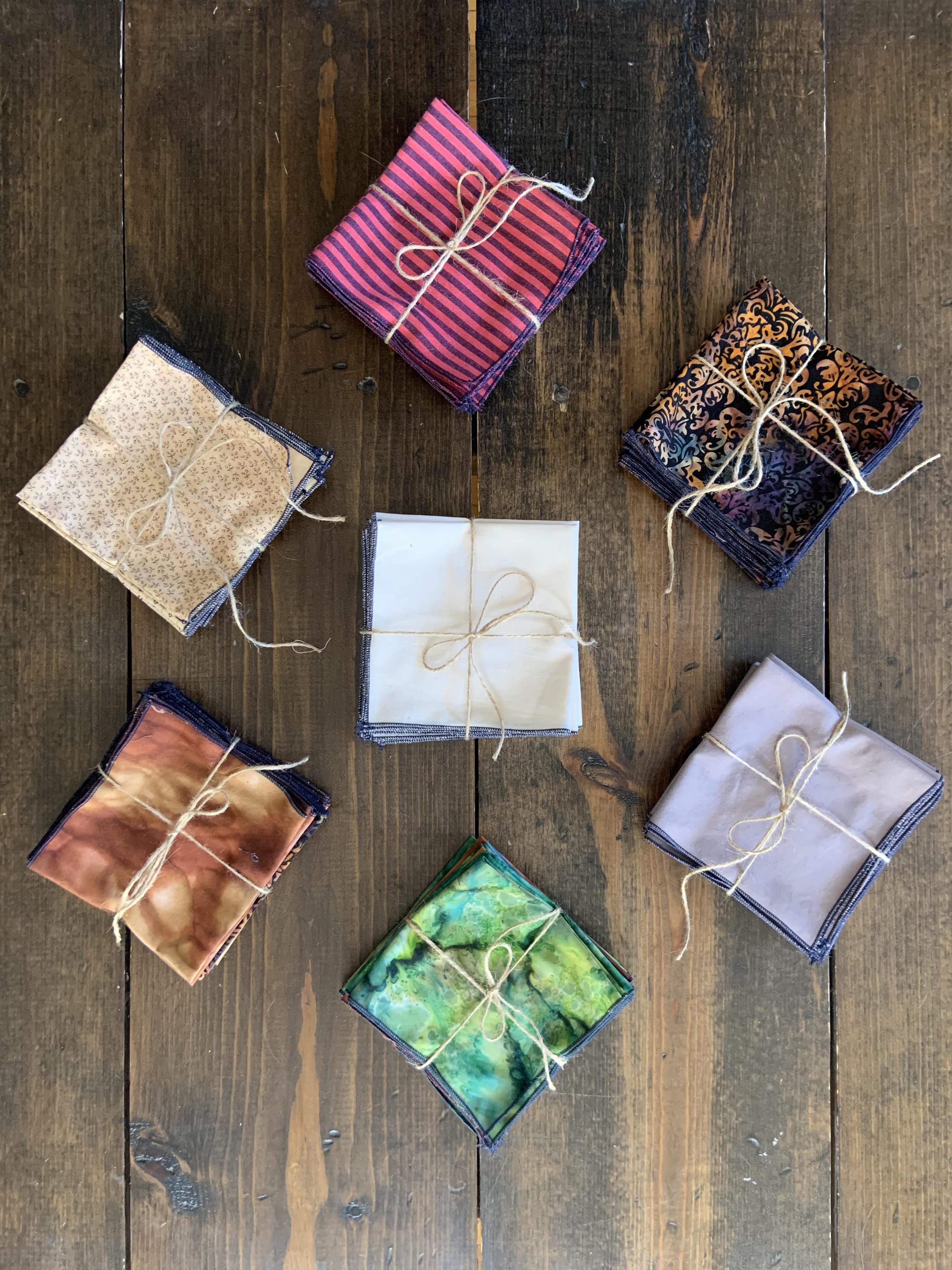 7 sets of cloth napkins