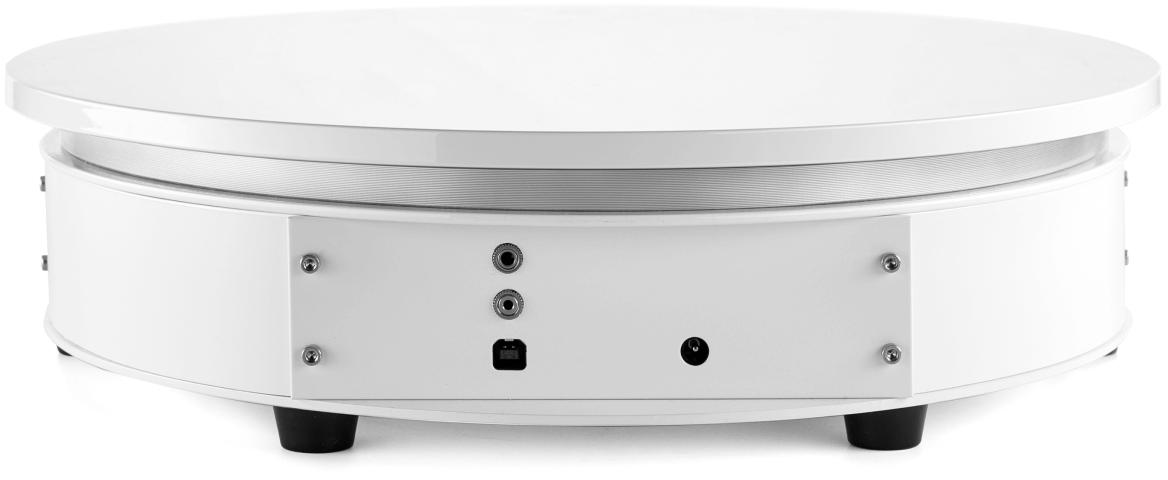 SpinShot turntable white