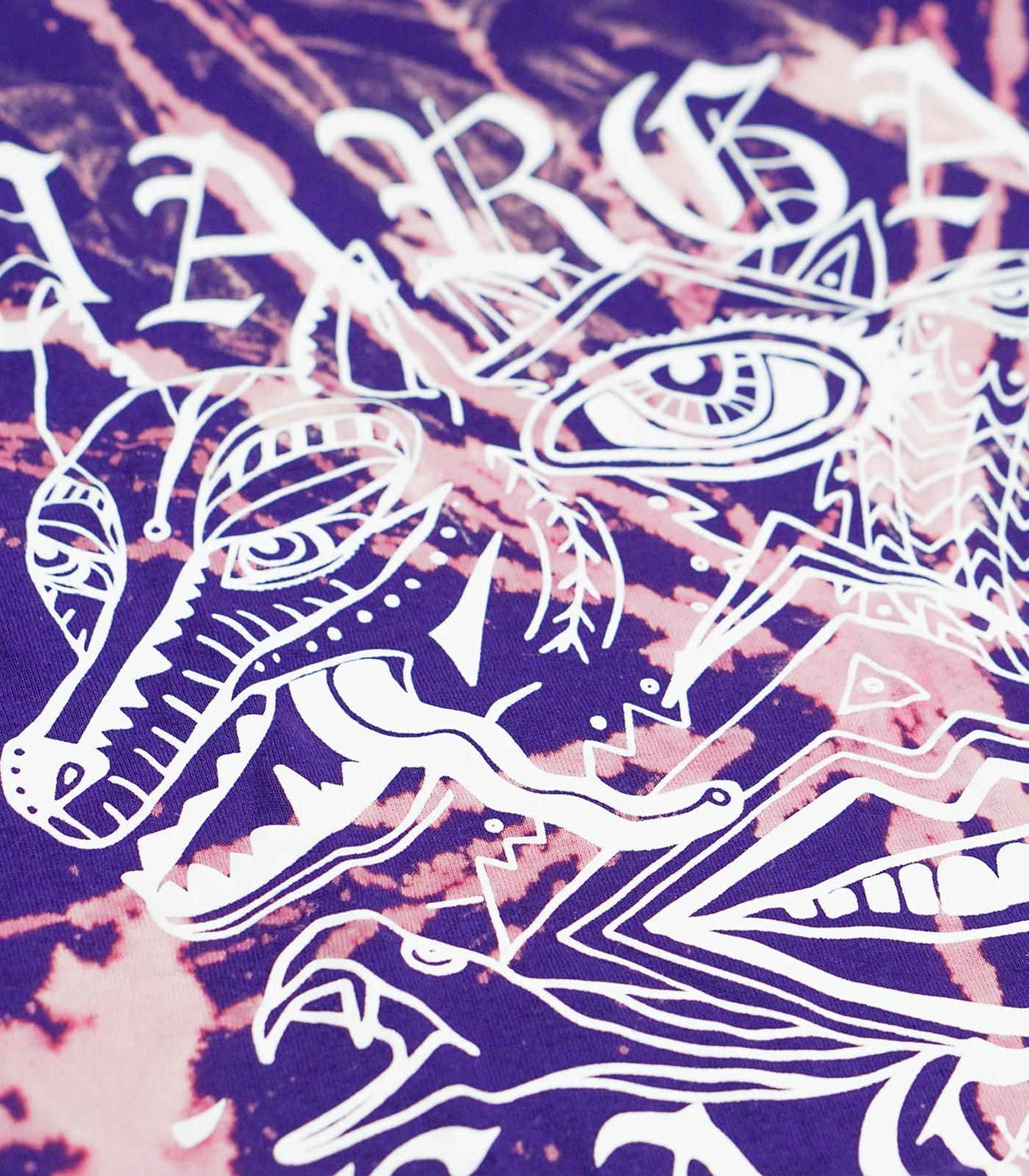 Goth Tie-Dye Purple