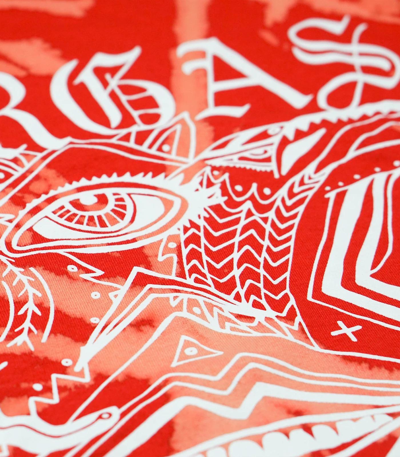 Goth Tie-Dye Red