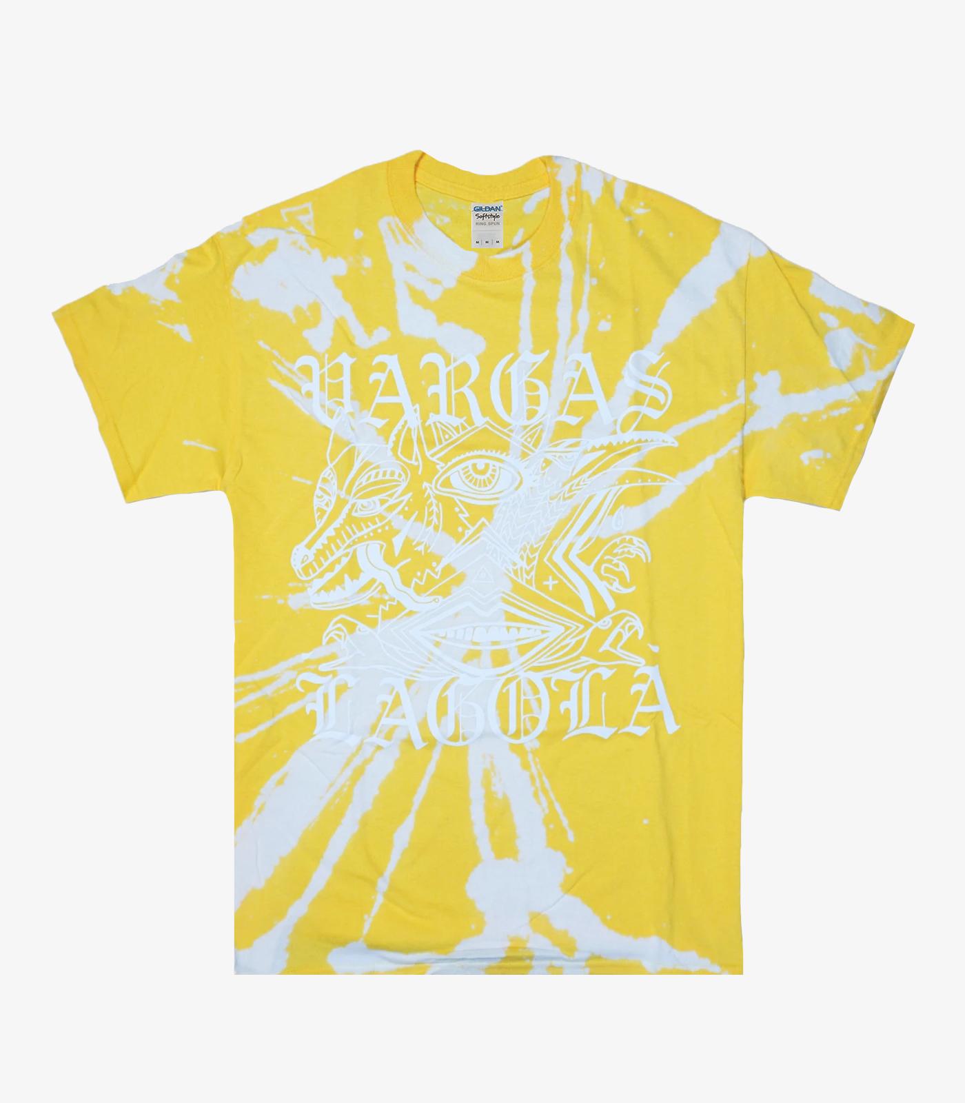 Goth Tie-Dye Yellow