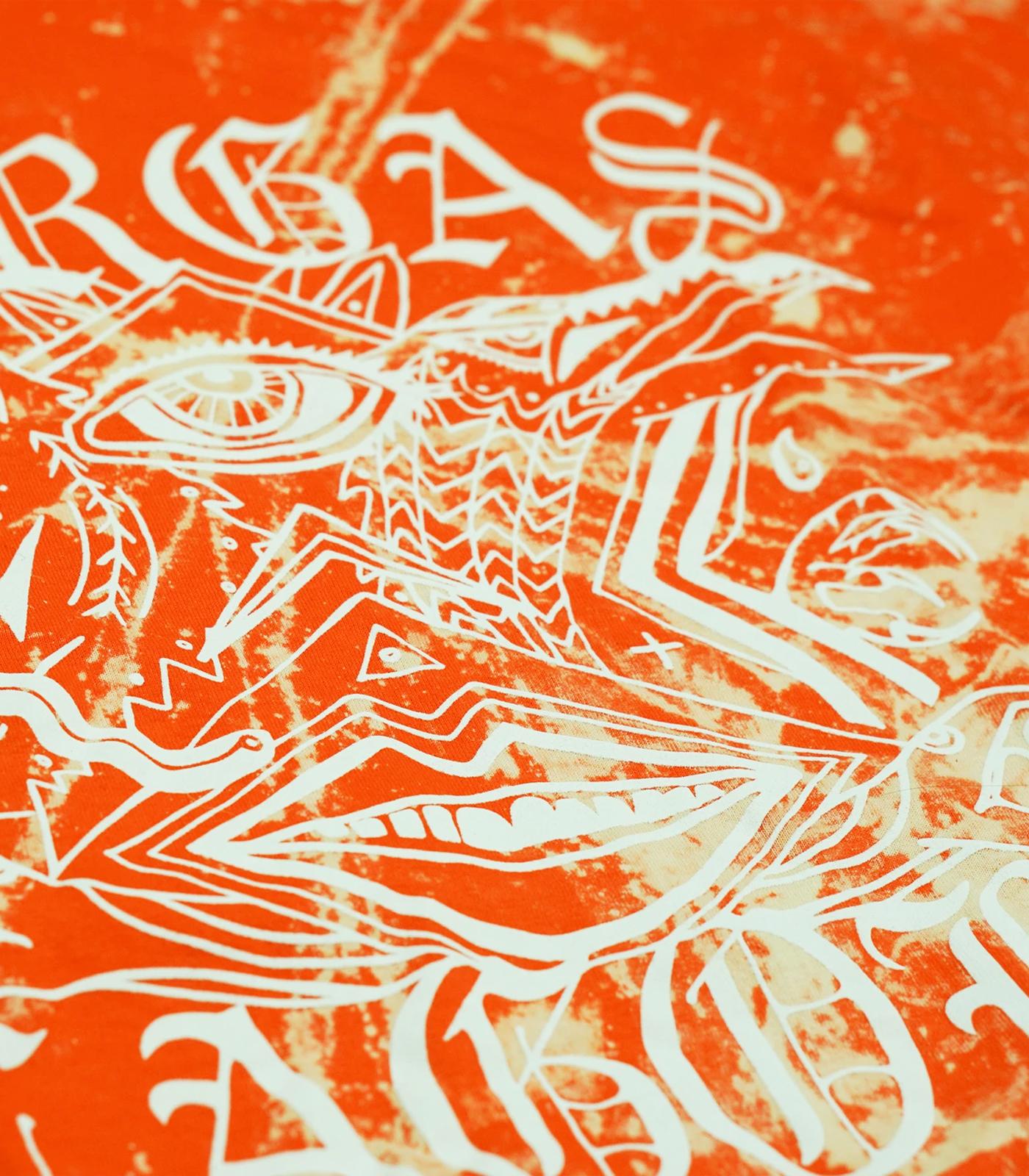 Goth Tie-Dye Orange
