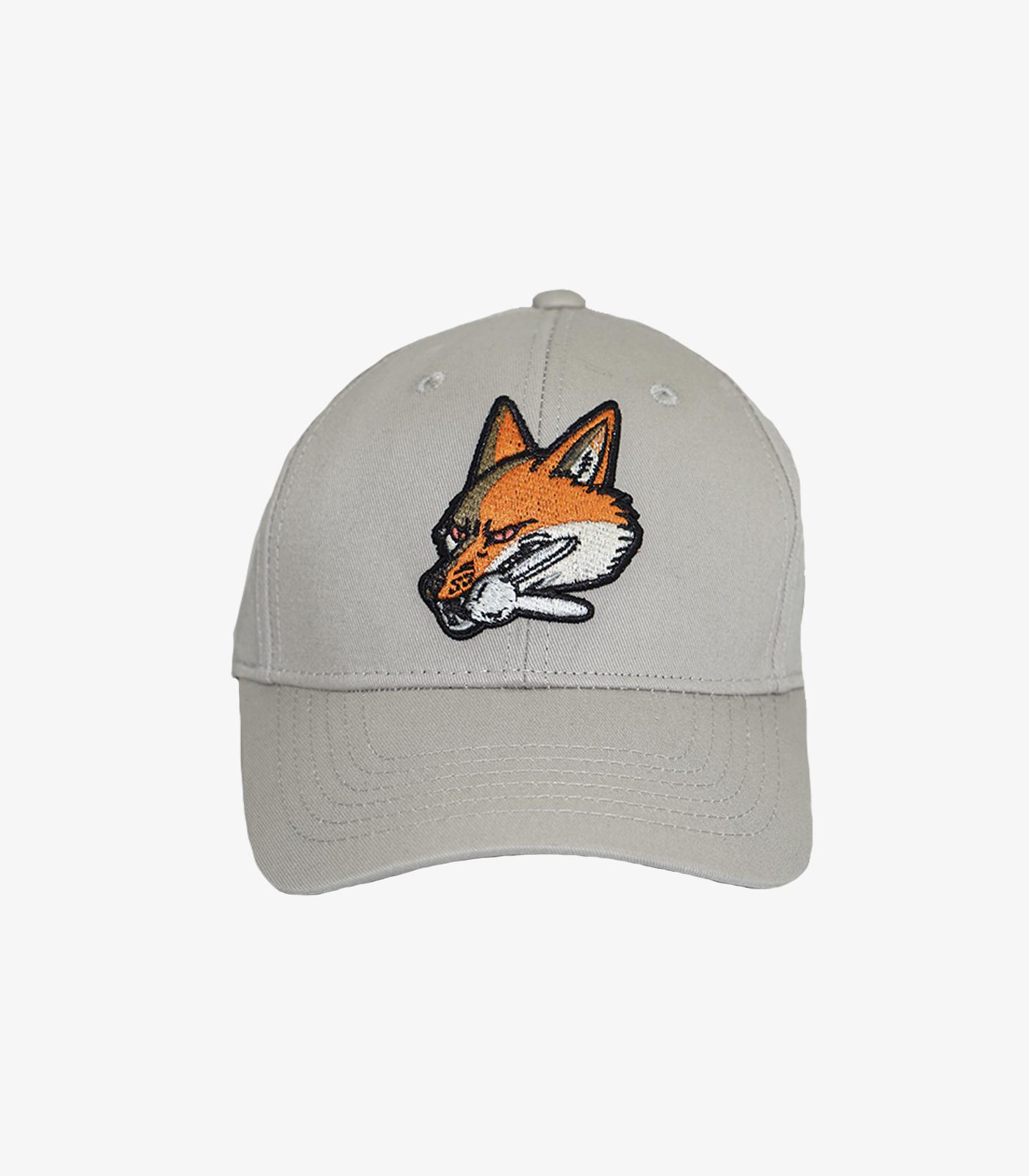 Fox Baseball Cap Beige