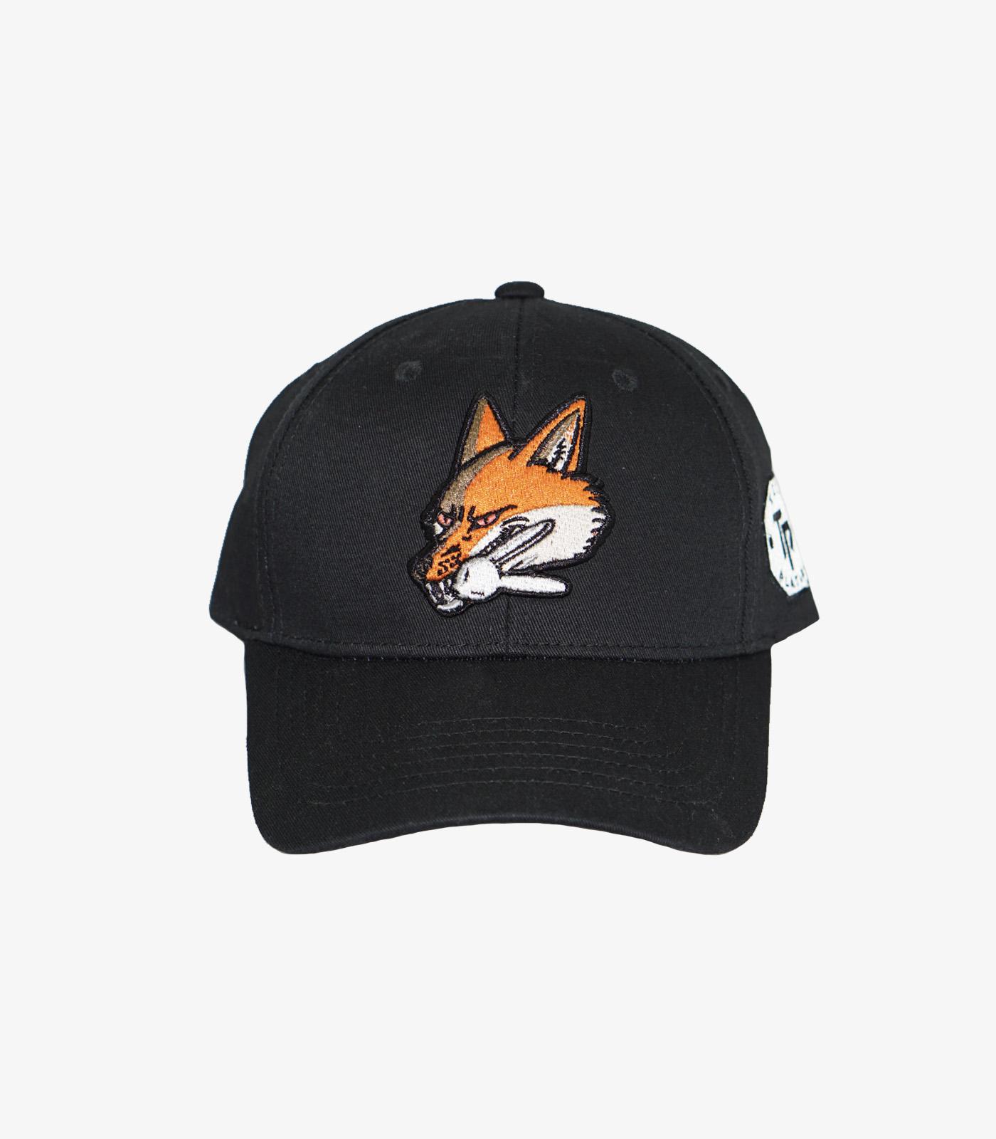 Fox Baseball Cap Black
