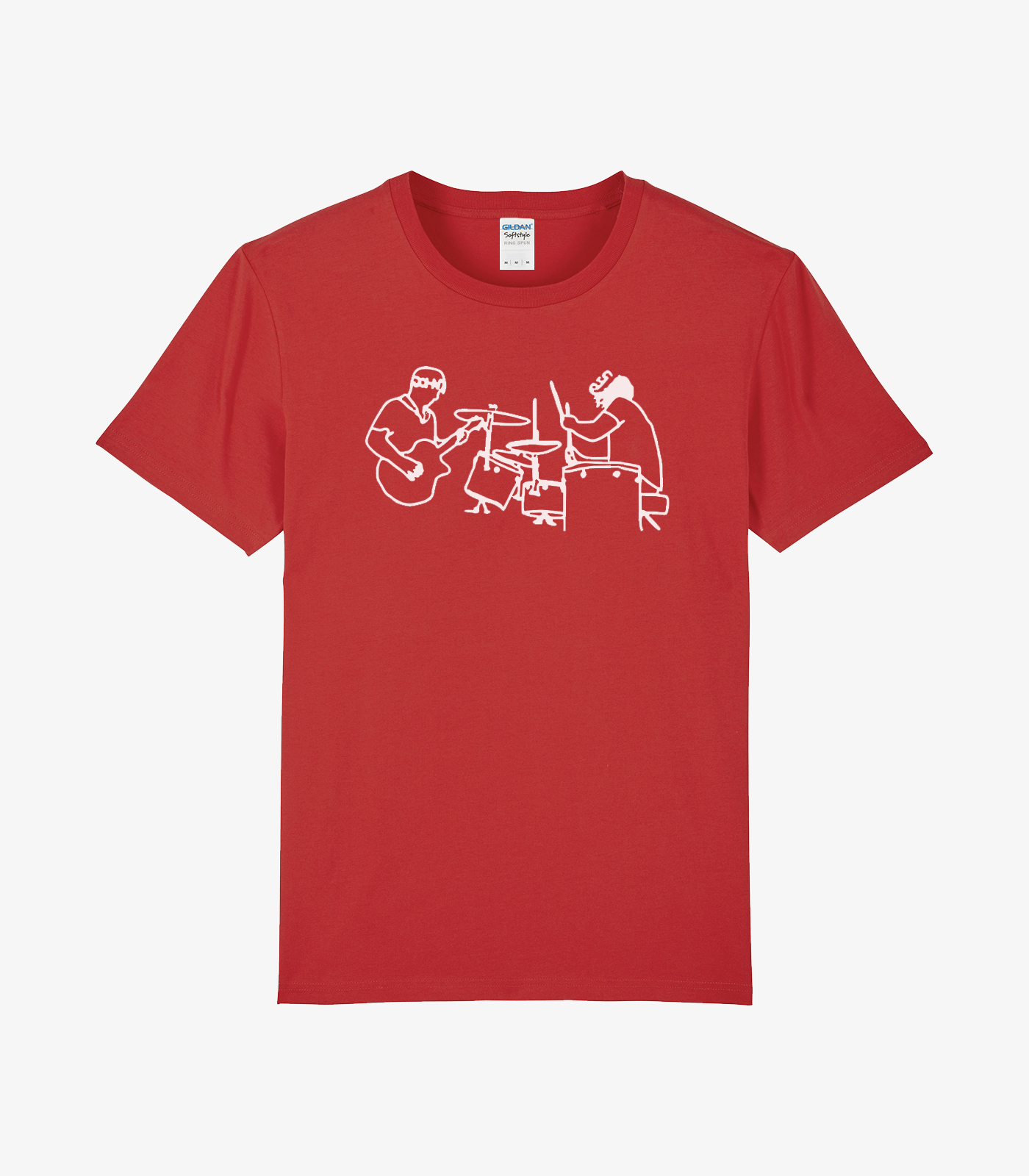 Red In Action T-shirt