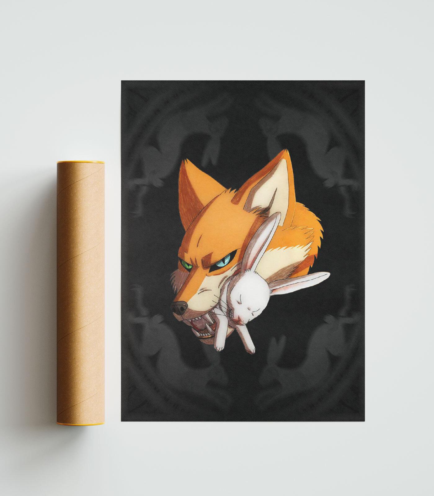 FOX Poster 50x70cm
