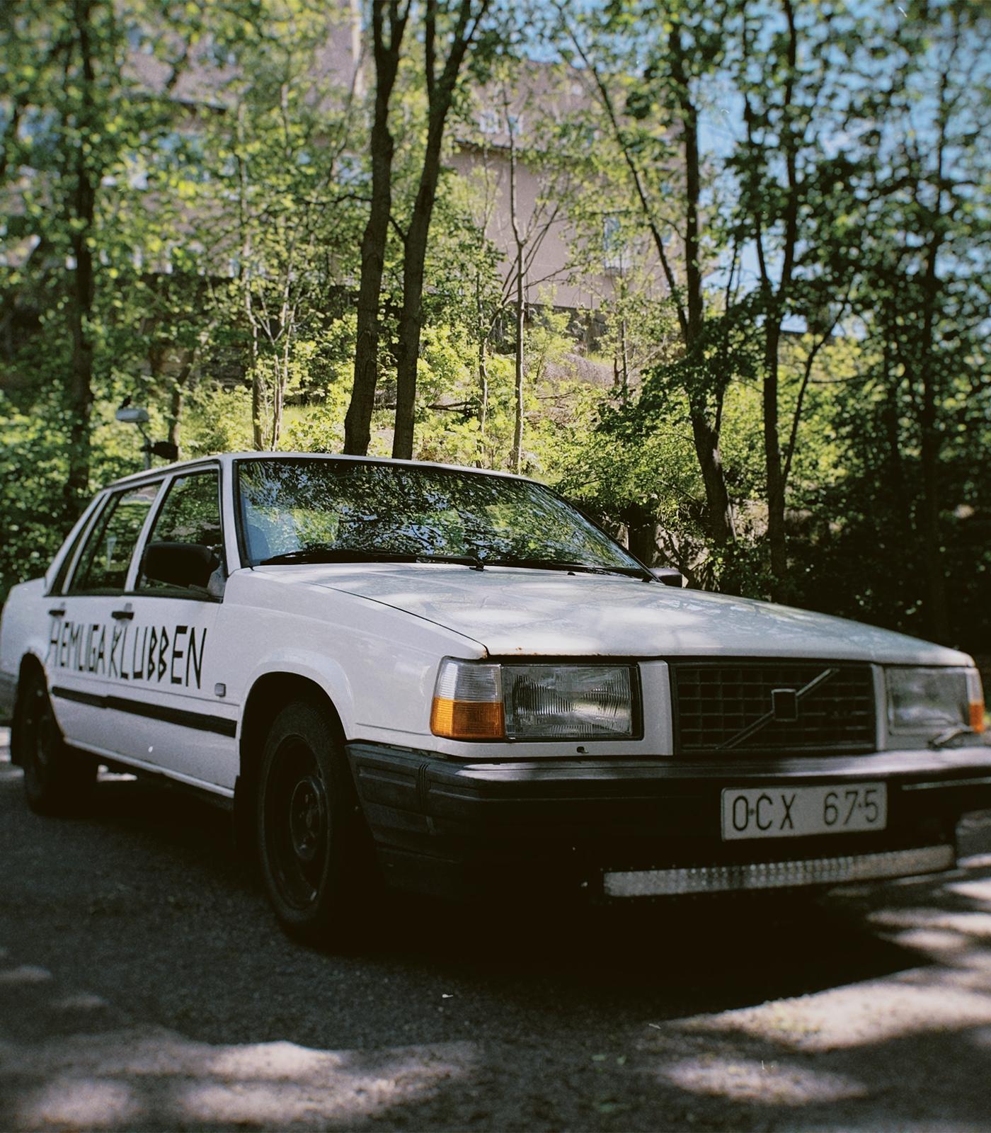 Hemliga Klubben-bilen - Volvo 740 GL/T