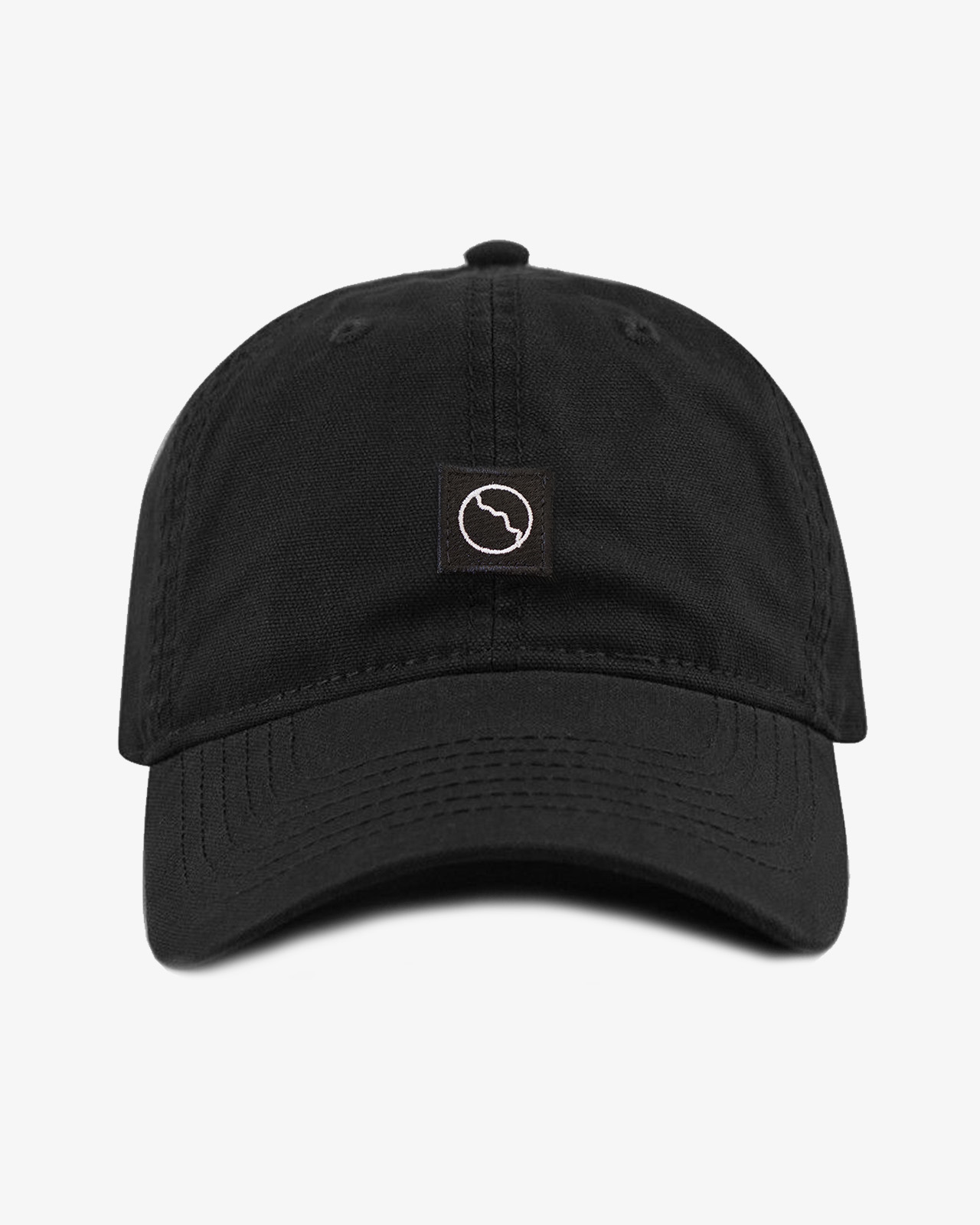 Black Patch Dad Cap