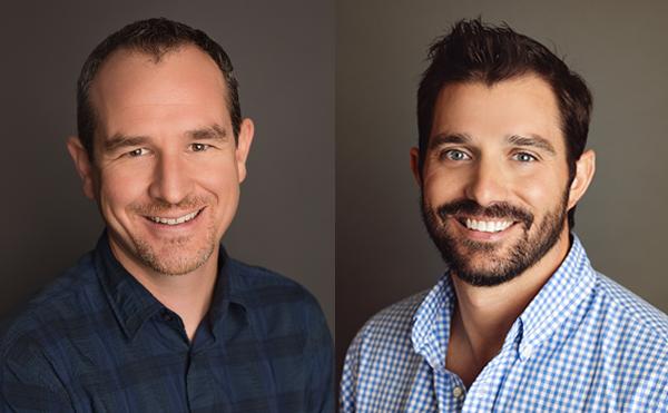 podcast hosts: Zed Williamson and Clark Wiederhold