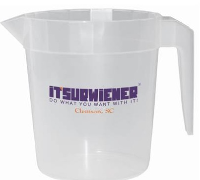 "ITSURWIENER Souvenir ""Litcher"" Pitcher - Main Logo"