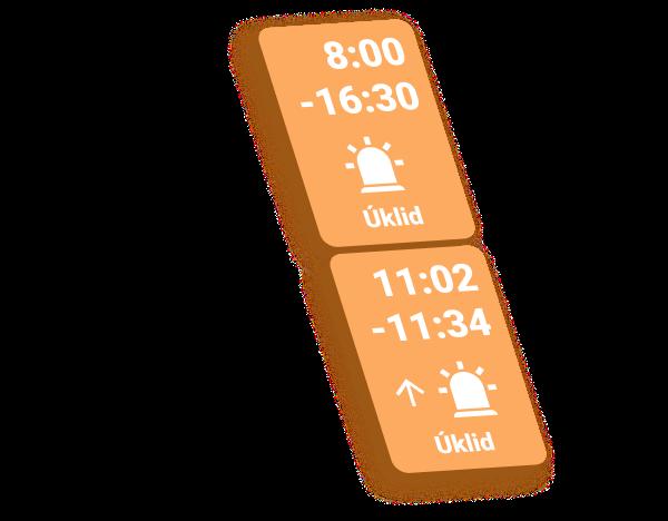 Pohotovost v kalendáři | Dayswaps