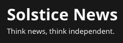 Solstice News logo
