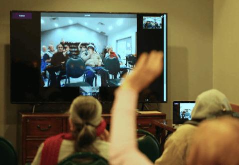 how to set up virtual trivia for seniors