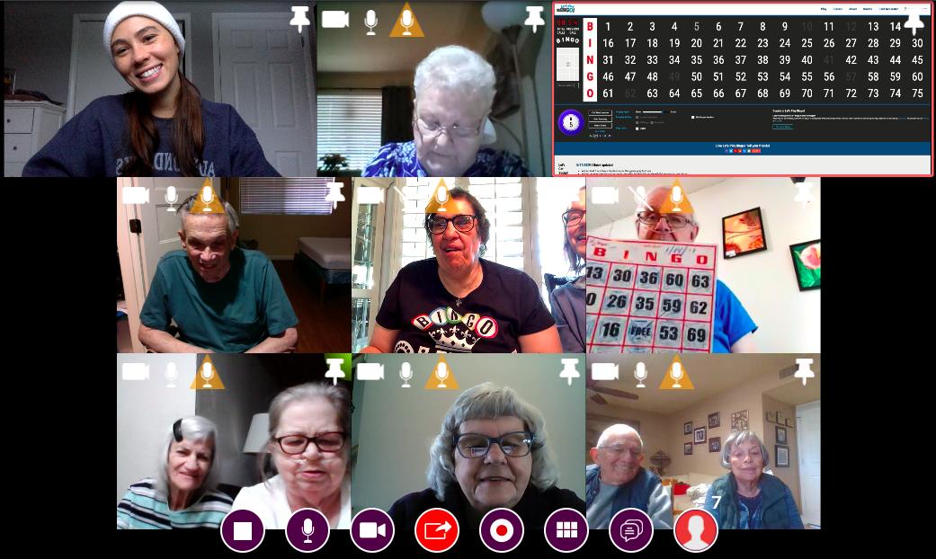 Televeda social platform for seniors