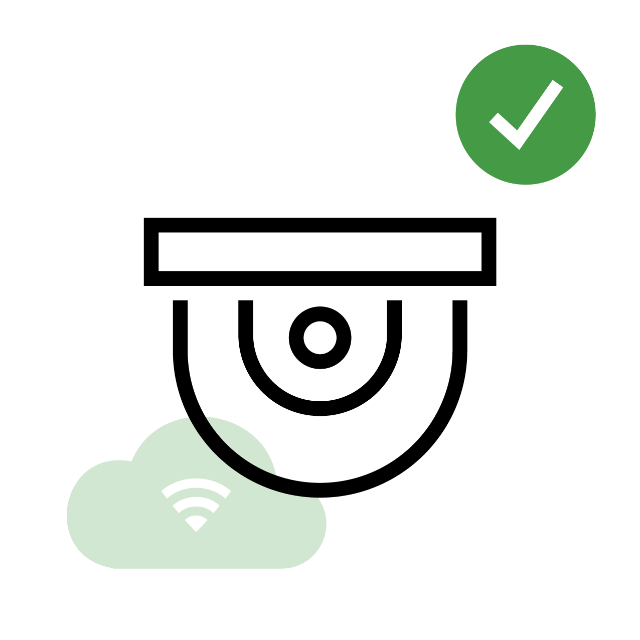 CCTV, Security Camera Icon