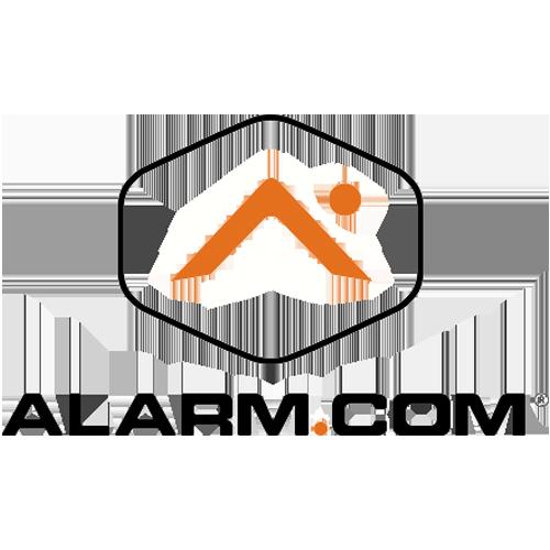 Logo and Link to Alarm.com