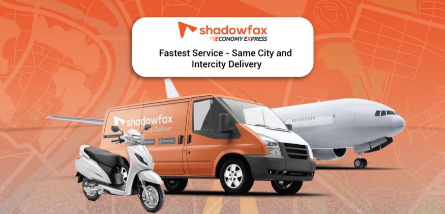 shadowfax same city intercity delivery