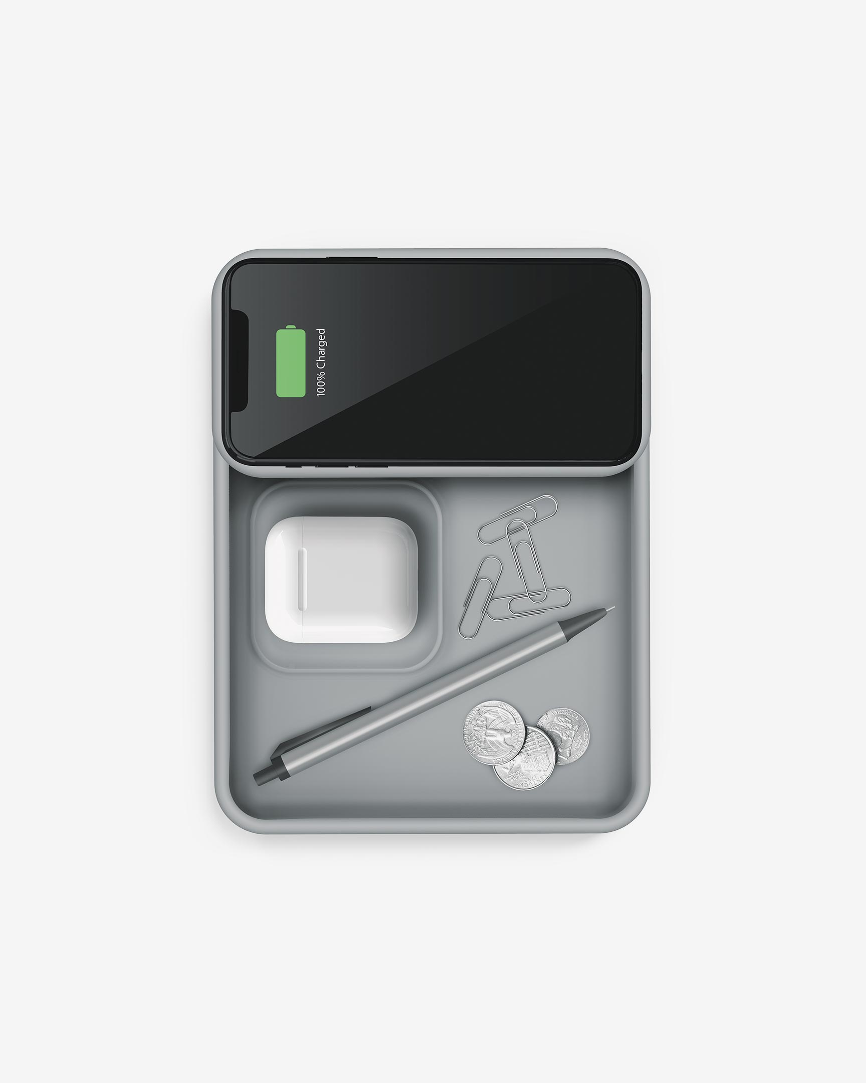 Tylt Tray Pivot charging devices