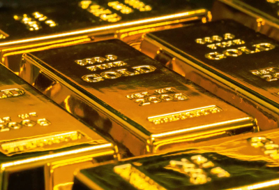 Image of pure gold bars