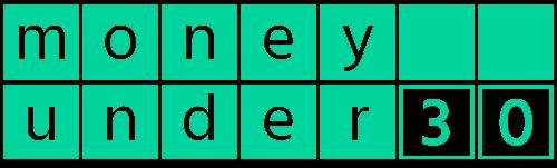 Money Under 30 logo