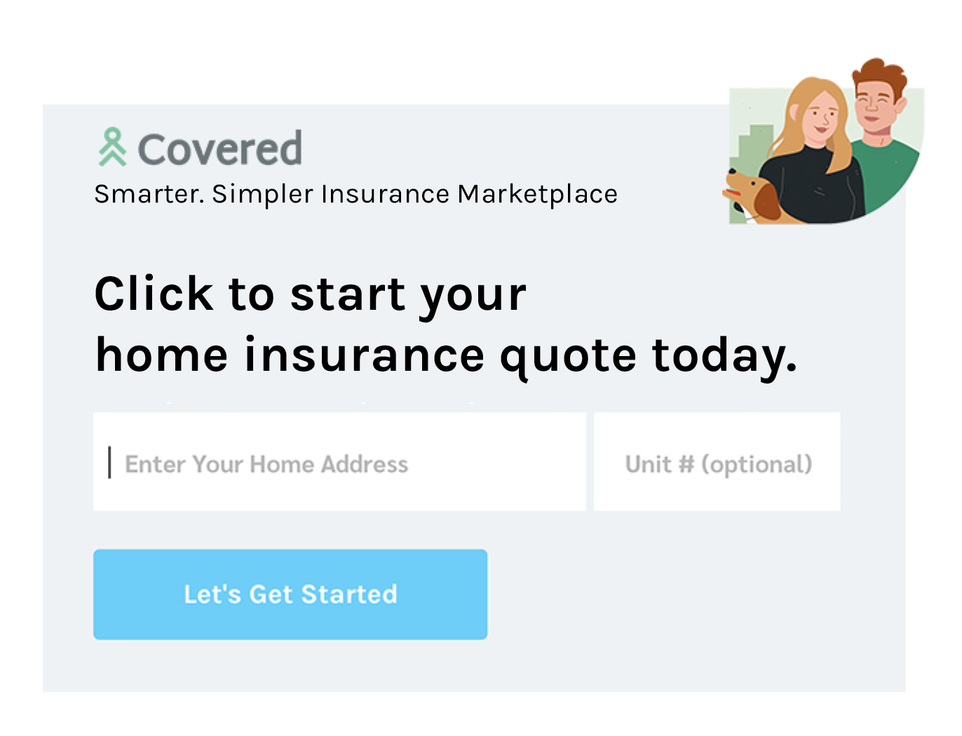 Home Insurance with Covered