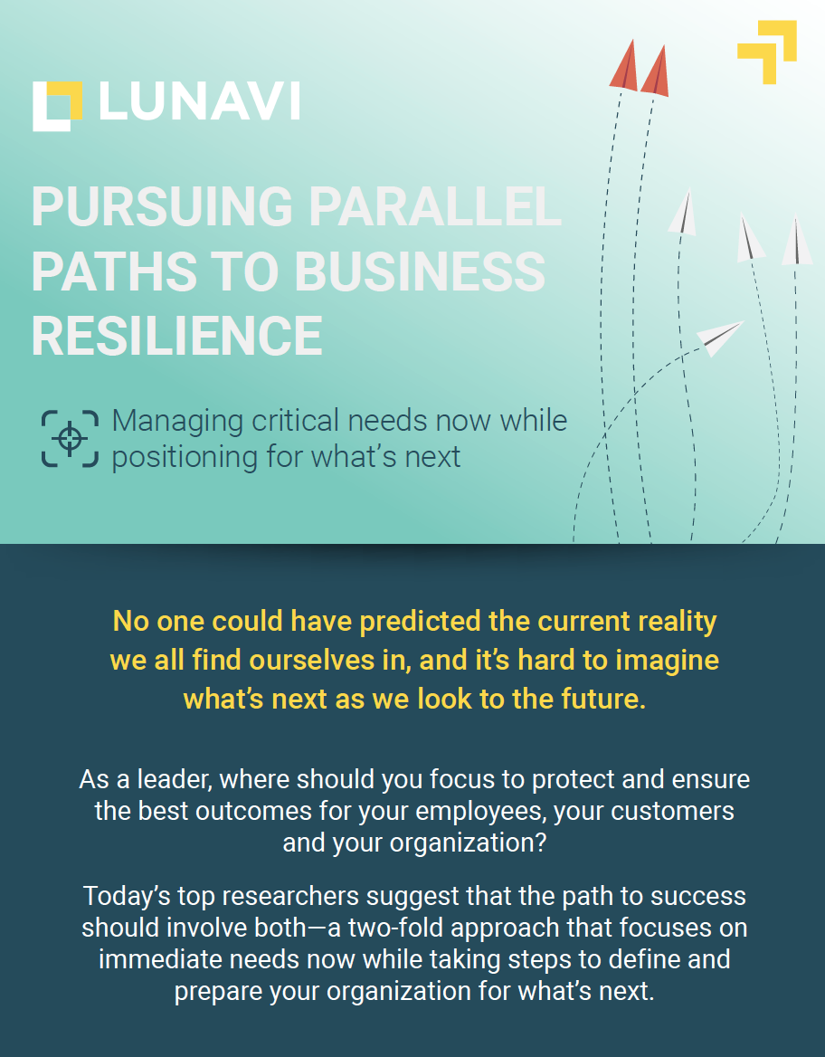 Parallel Paths to Business Resilience [Infographic]