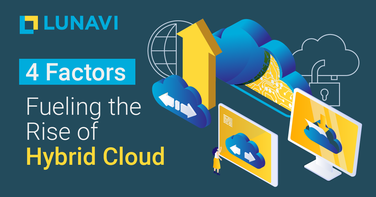 4 Factors Fueling the Rise of Hybrid Cloud
