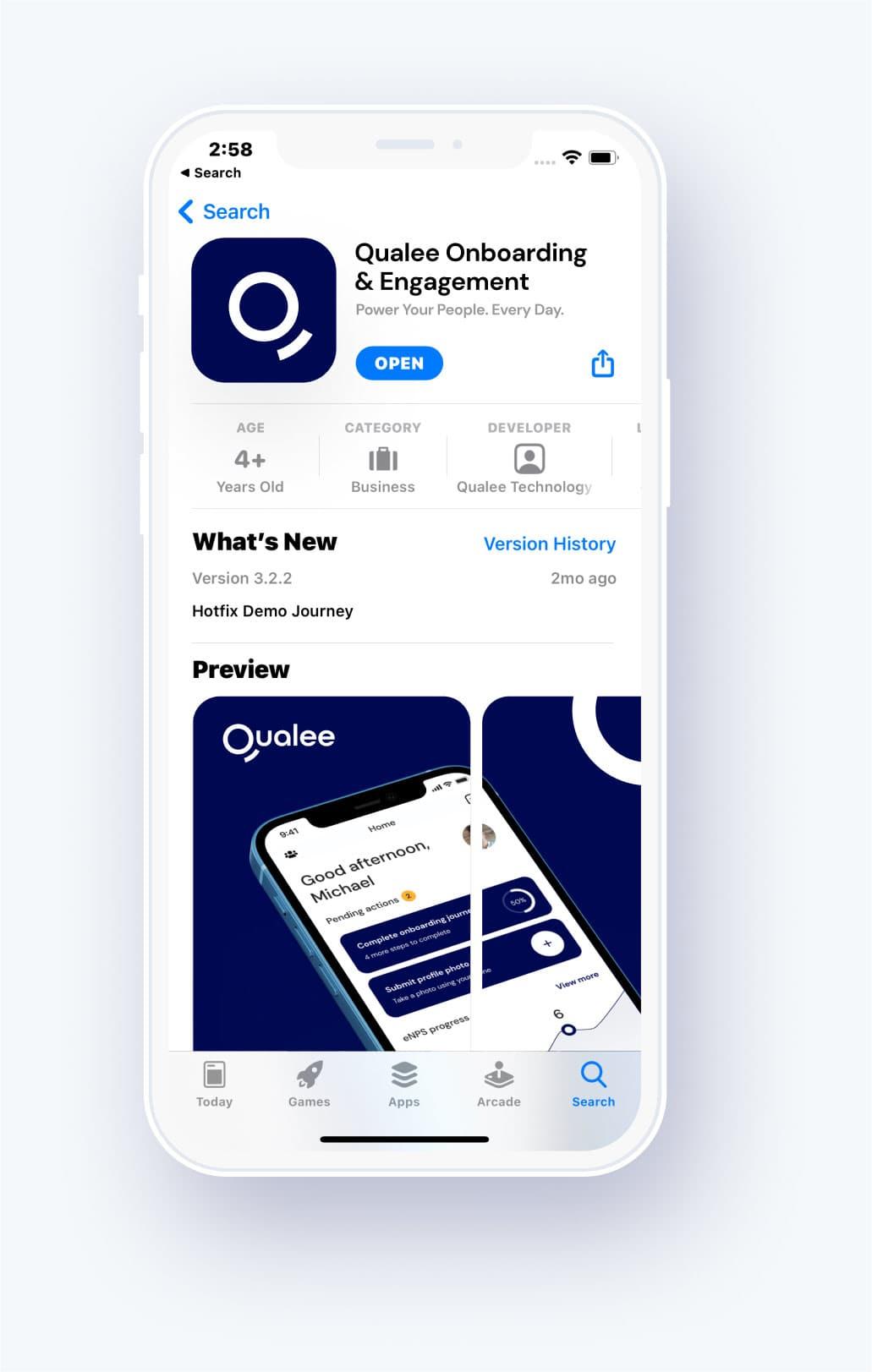 Qualee Employee Onboarding App - Mobile-first Platform
