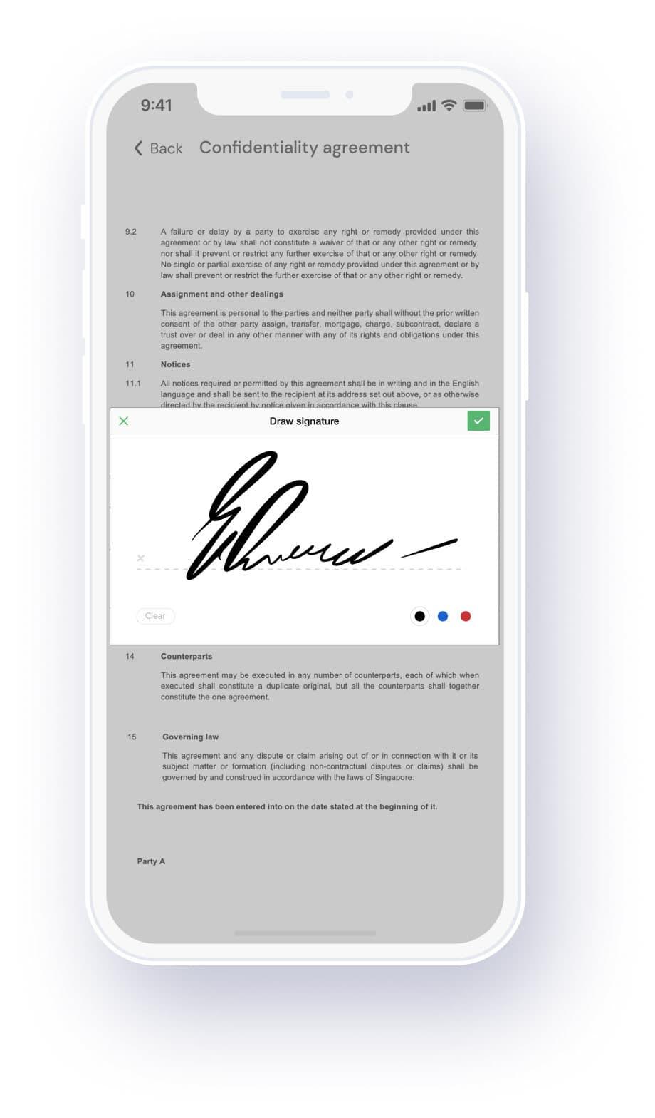 Qualee Employee Onboarding App - Unlimited eSignature