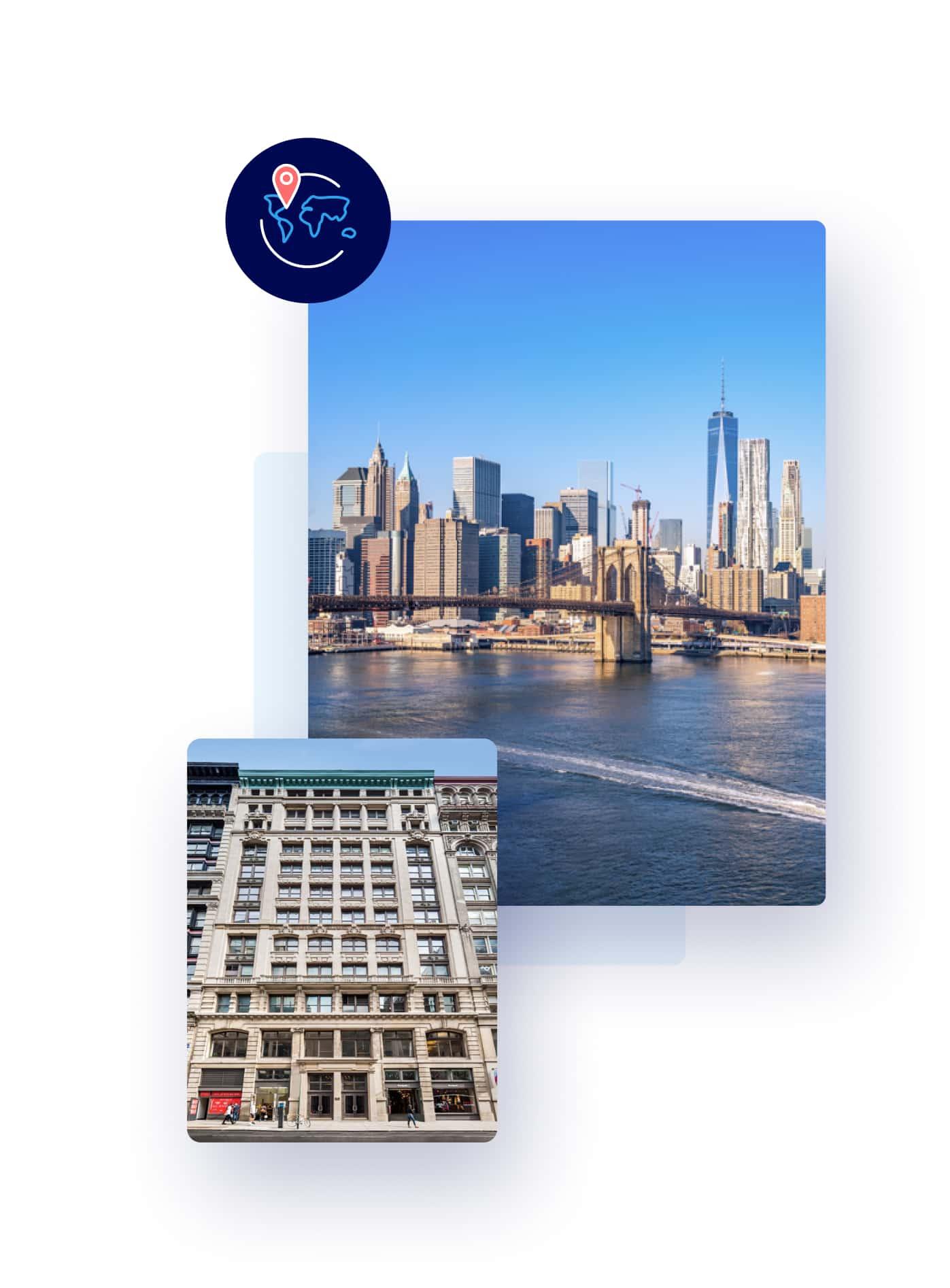 Incorporación de empleados a distancia en Nueva York