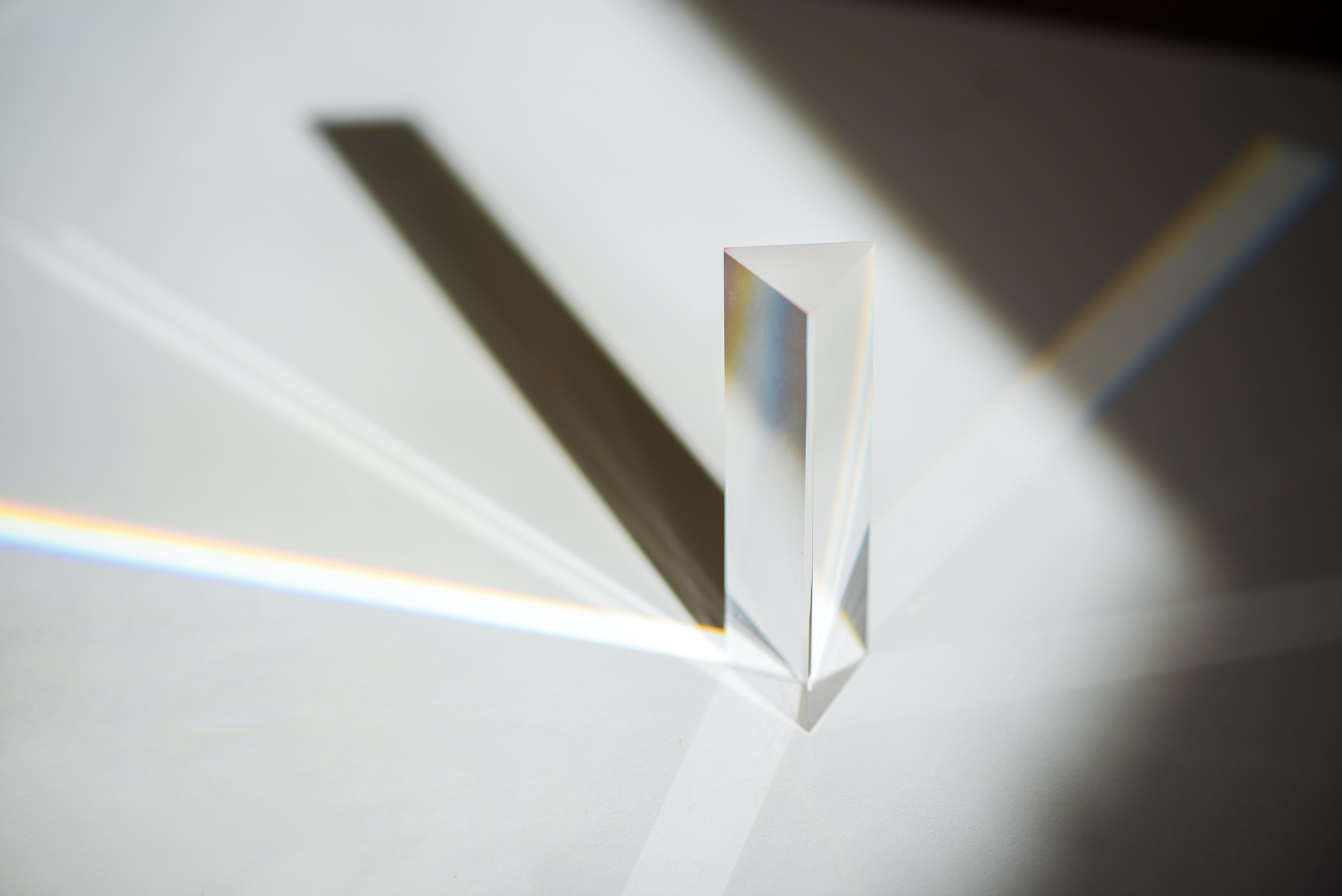 Prism light color effect