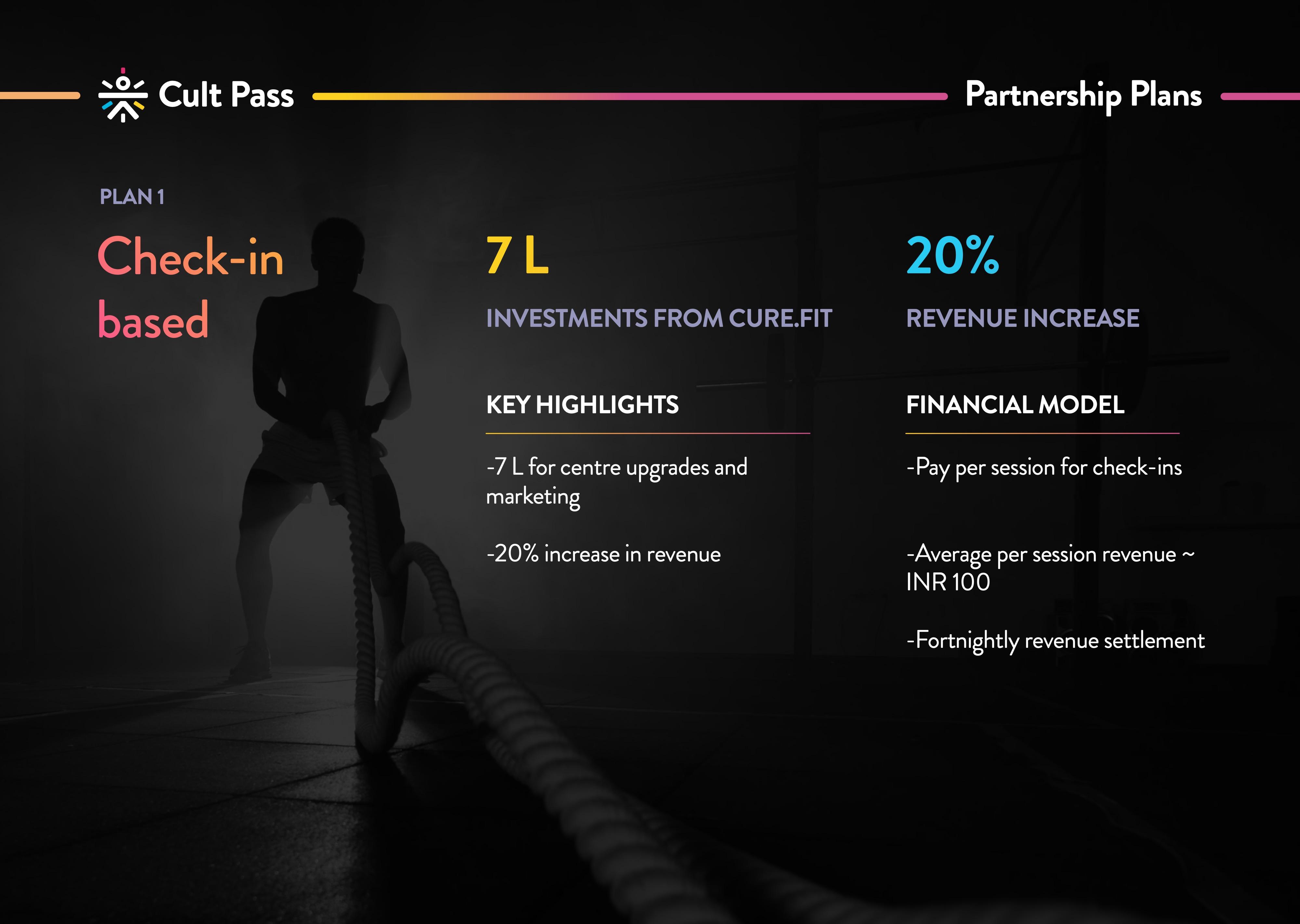check in based partnership plan