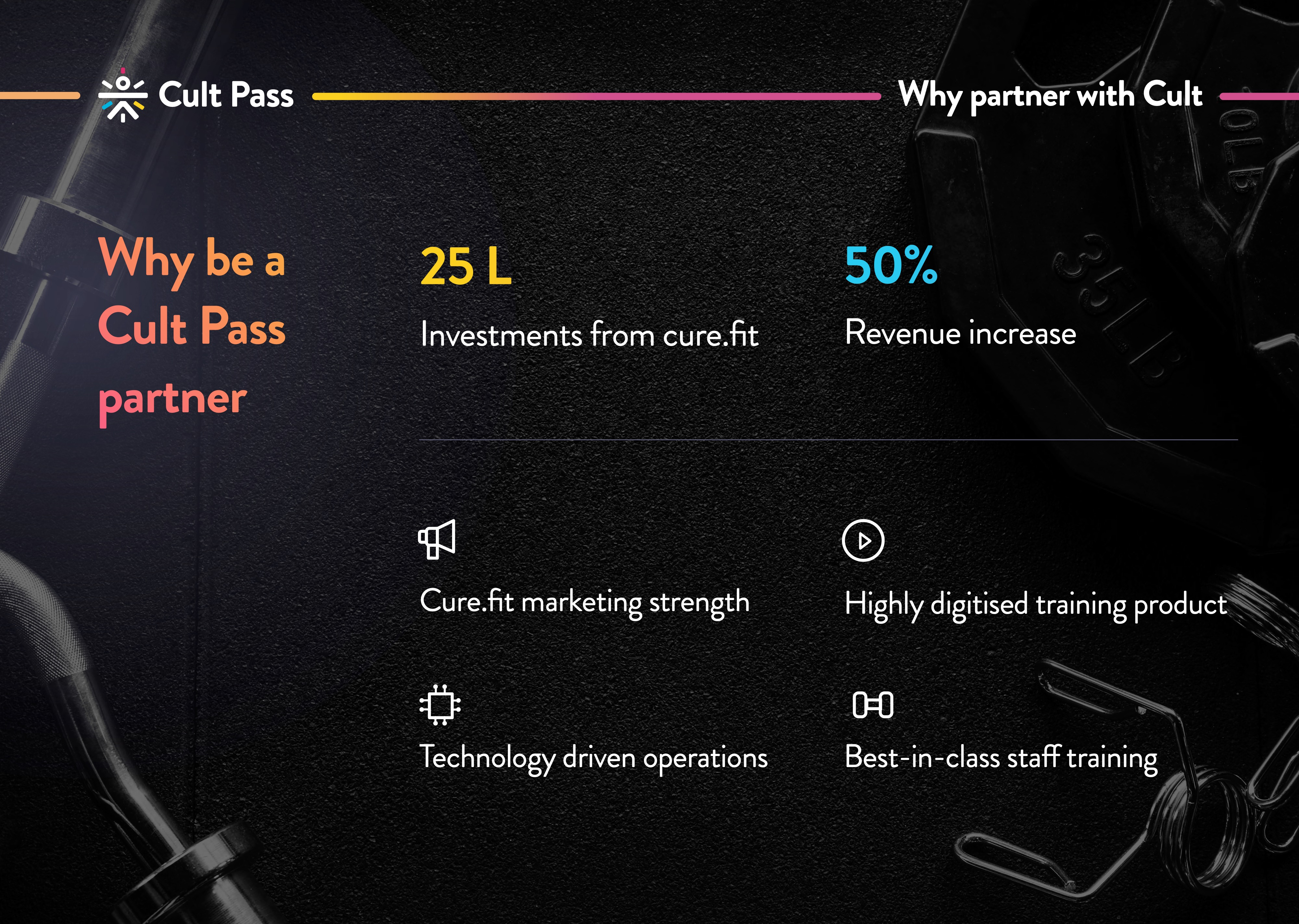 why be a cult pass partner