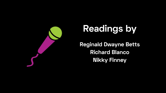 Readings by Betts, Blanco and Finney