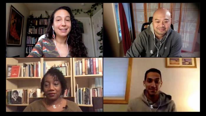 Poems and Conversation with Andrés Cerpa, Teri Ellen Cross Davis and Oliver de la Paz (Student Session)