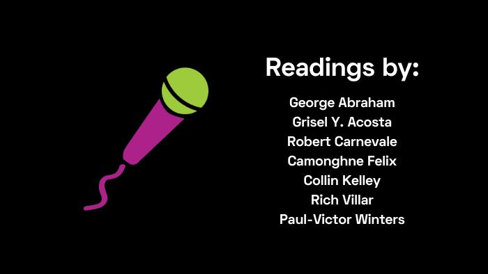 Readings by Abraham, Acosta, Carnevale, Felix, Kelley, Villar and Winters
