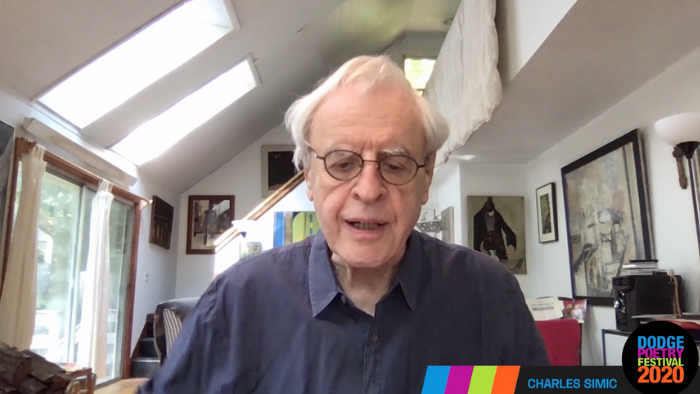 Charles Simic Reads Emily Dickinson