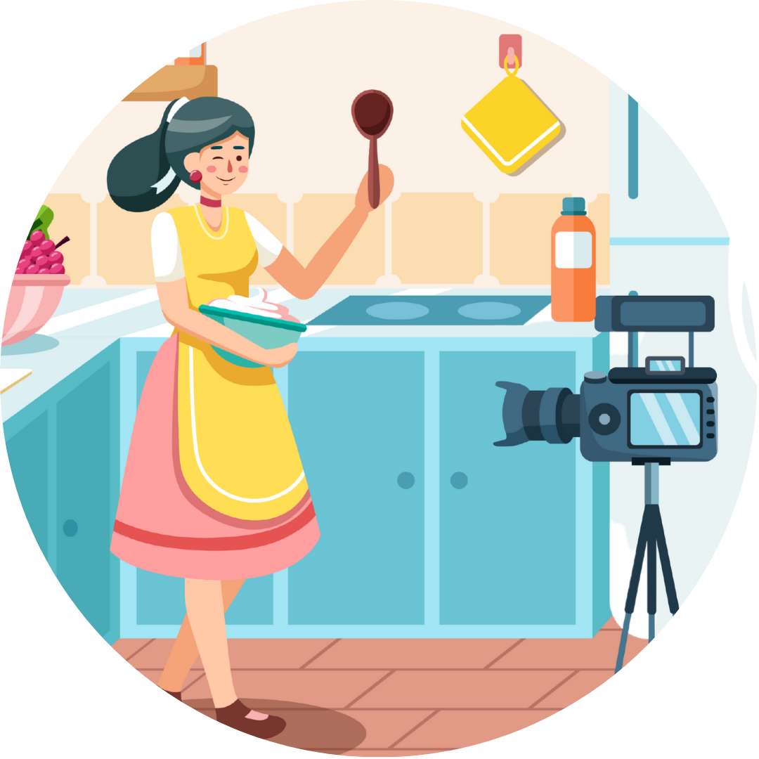 Launch your own cooking show from your very own home kitchen