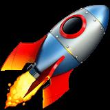 Rocket emoji