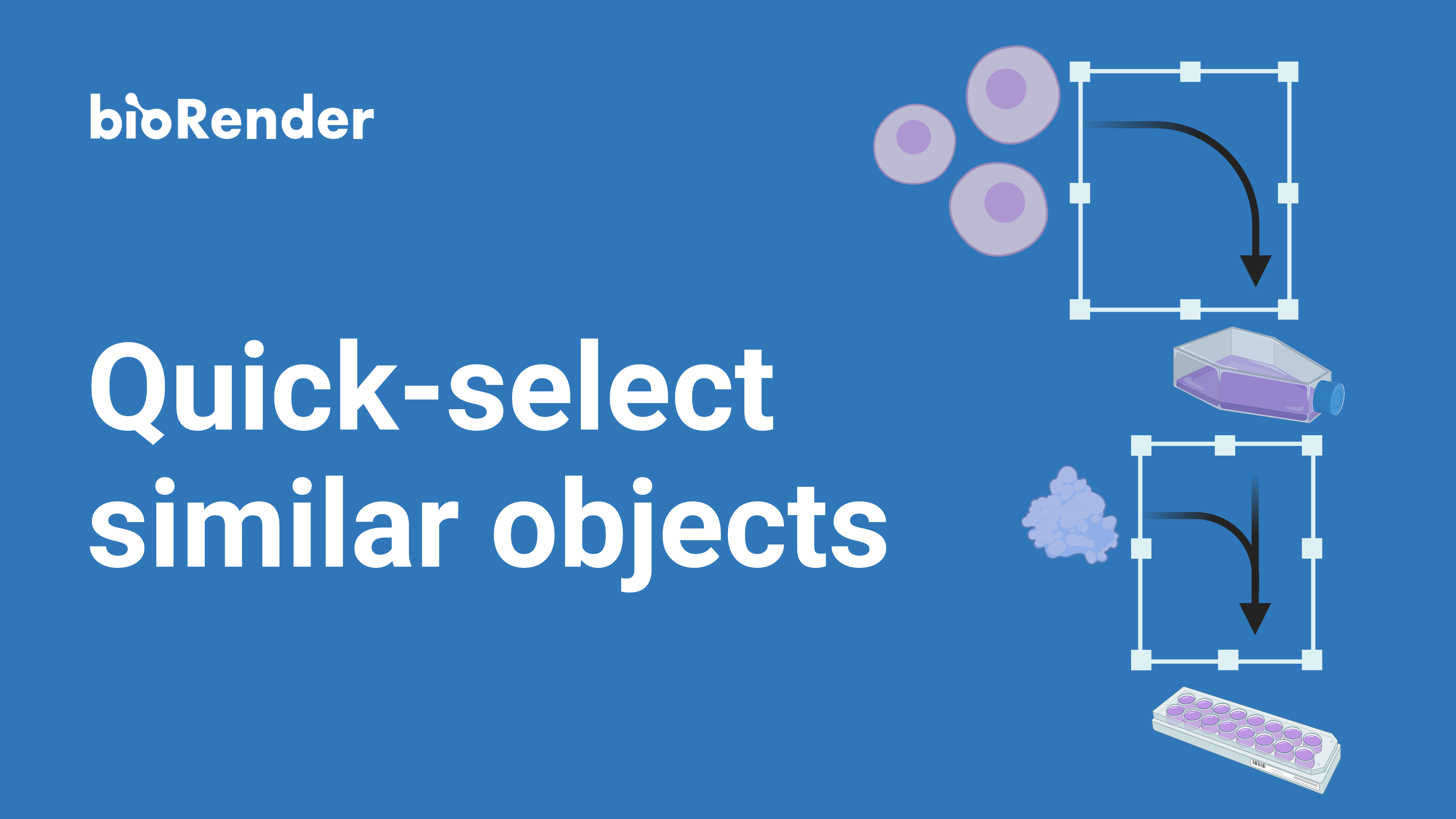 Quick-select similar objects